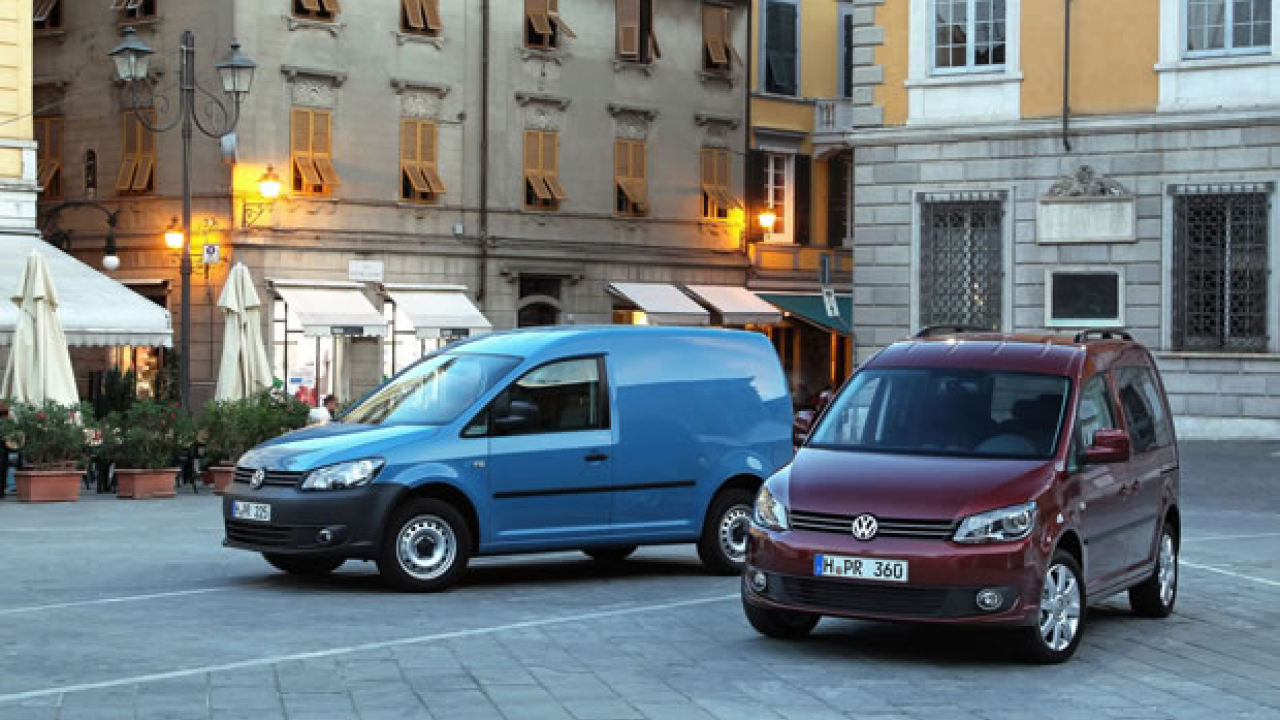 Volkswagen Caddy, ora con Park Assist