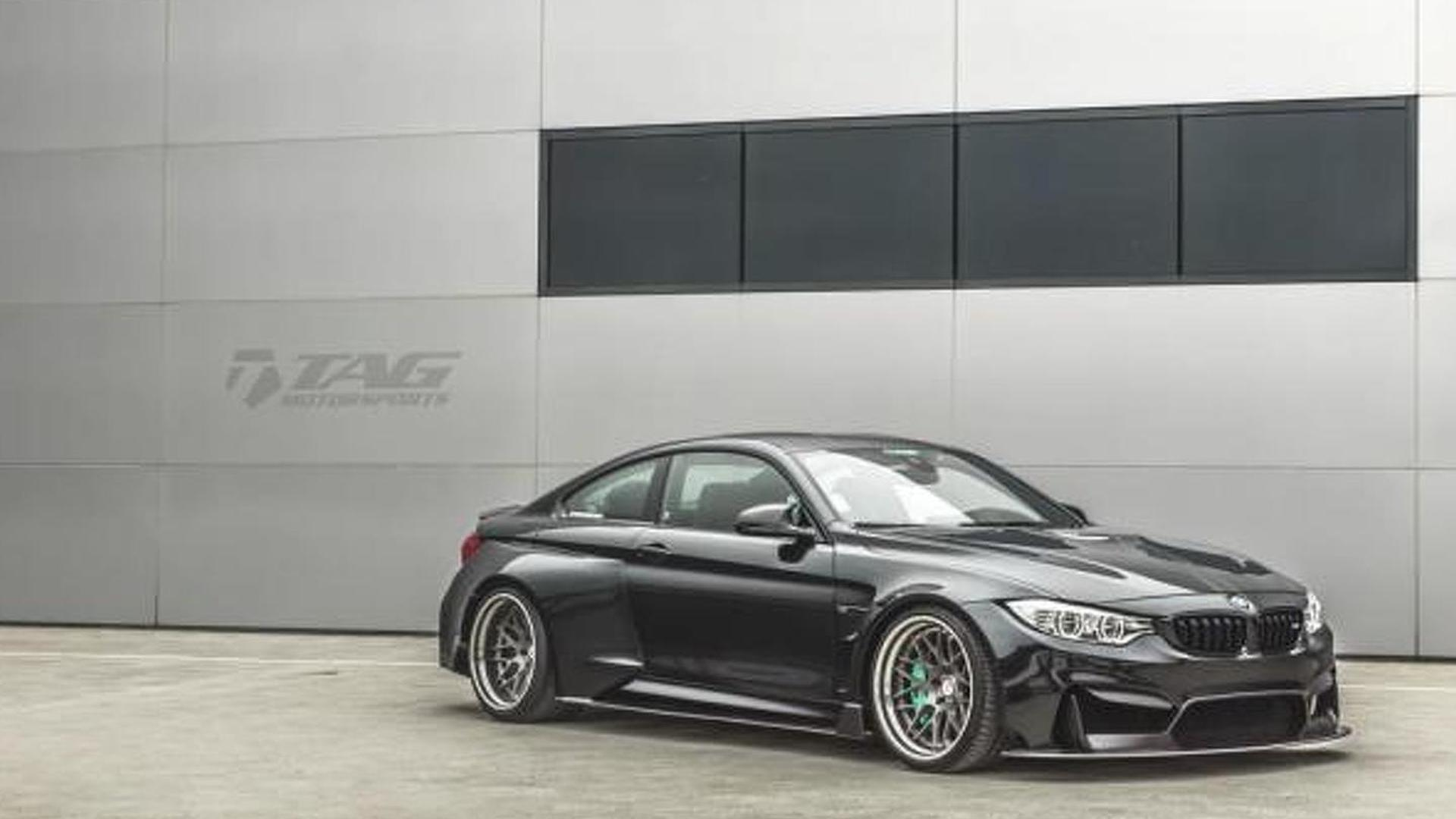 BMW M4 by TAG Motorsports looks mean with very wide body kit