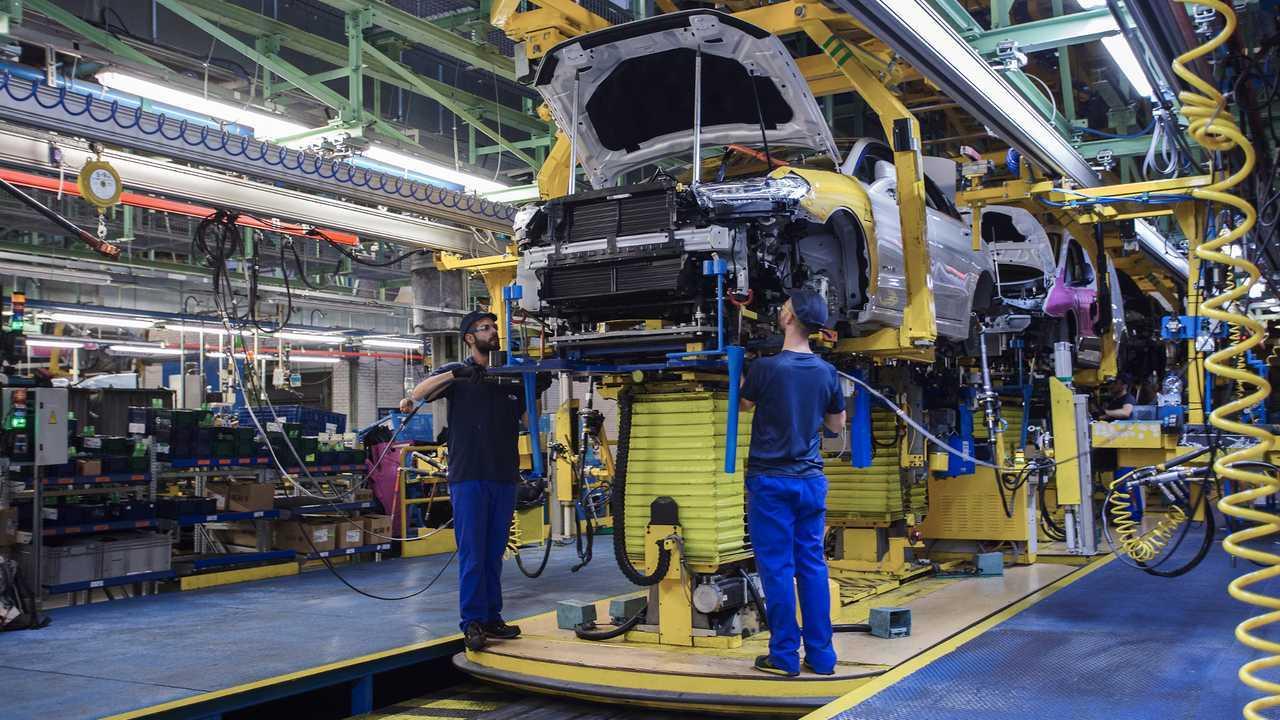 Ford üretim tesisi.