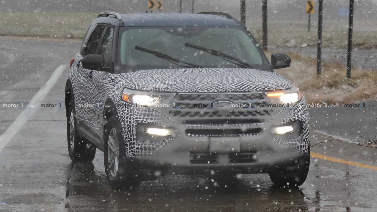Ford Explorer Spy Shots