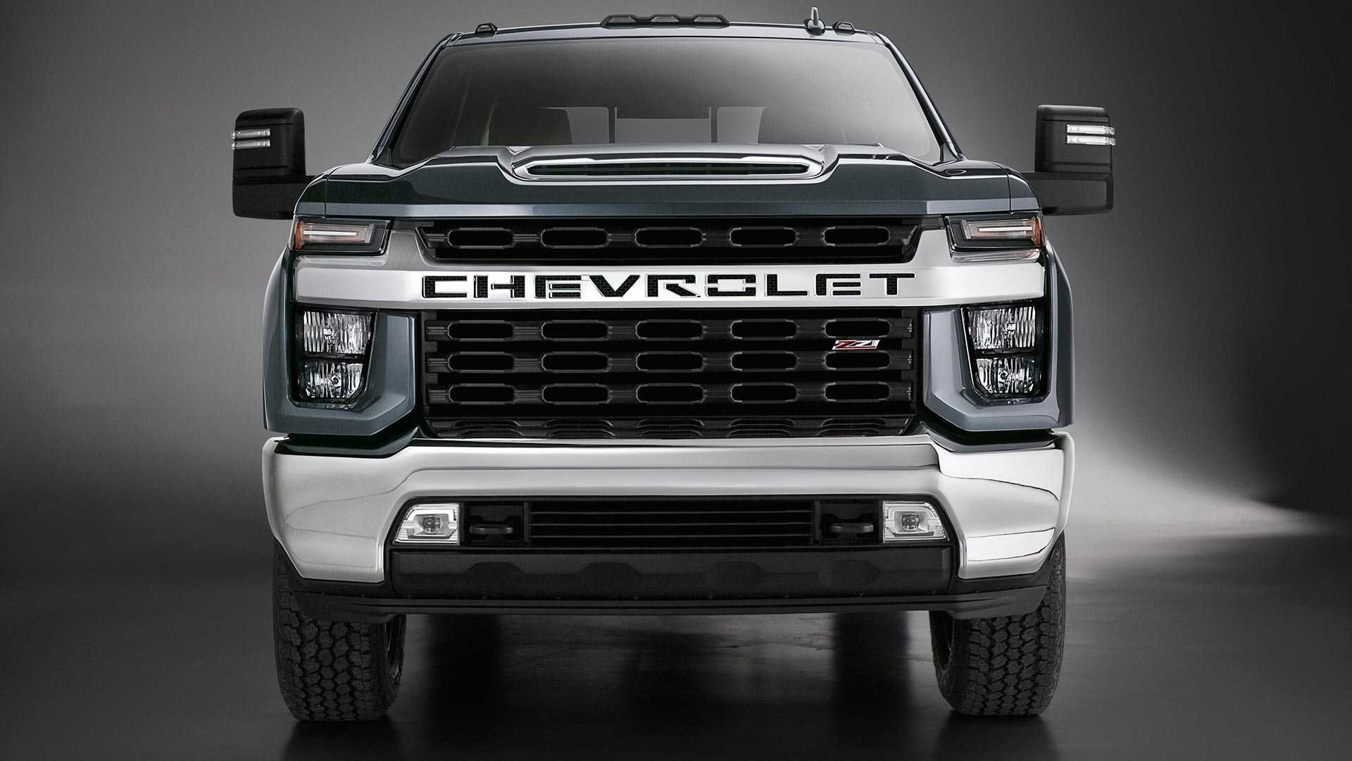 New Chevy Trucks >> 2020 Chevy Silverado Hd Unveiled Getting New V8 And Gearbox