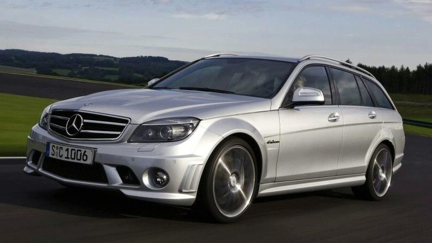 Mercedes C 63 AMG Estate Revealed