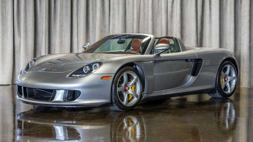 Un Porsche Carrera GT, con 111 kilómetros, a la venta