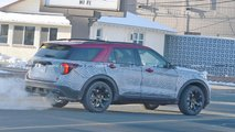 Ford Explorer ST Spy Shots