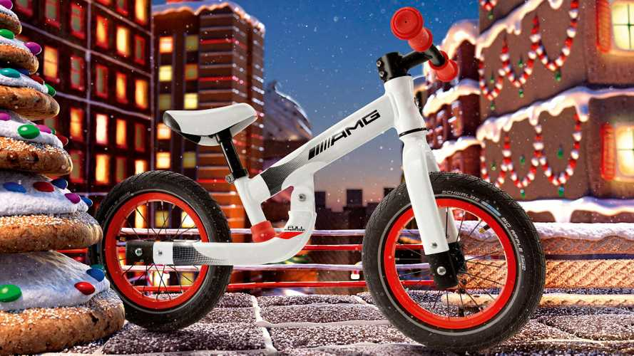 Finally, AMG has made a balance bike