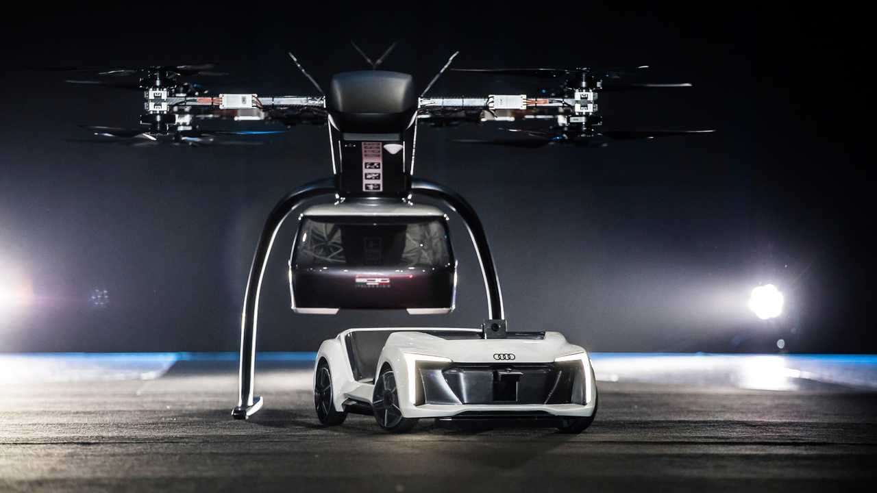 Audi taxi autónomo volador