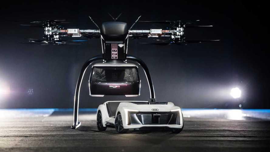Audi se atreve con un prototipo de taxi autónomo volador
