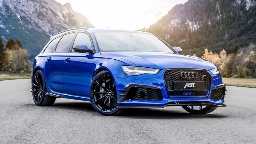 ABT Audi RS6+ Nogaro Edition, fulmine blu da 735 CV