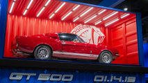 2020 Ford Shelby GT500 teaser
