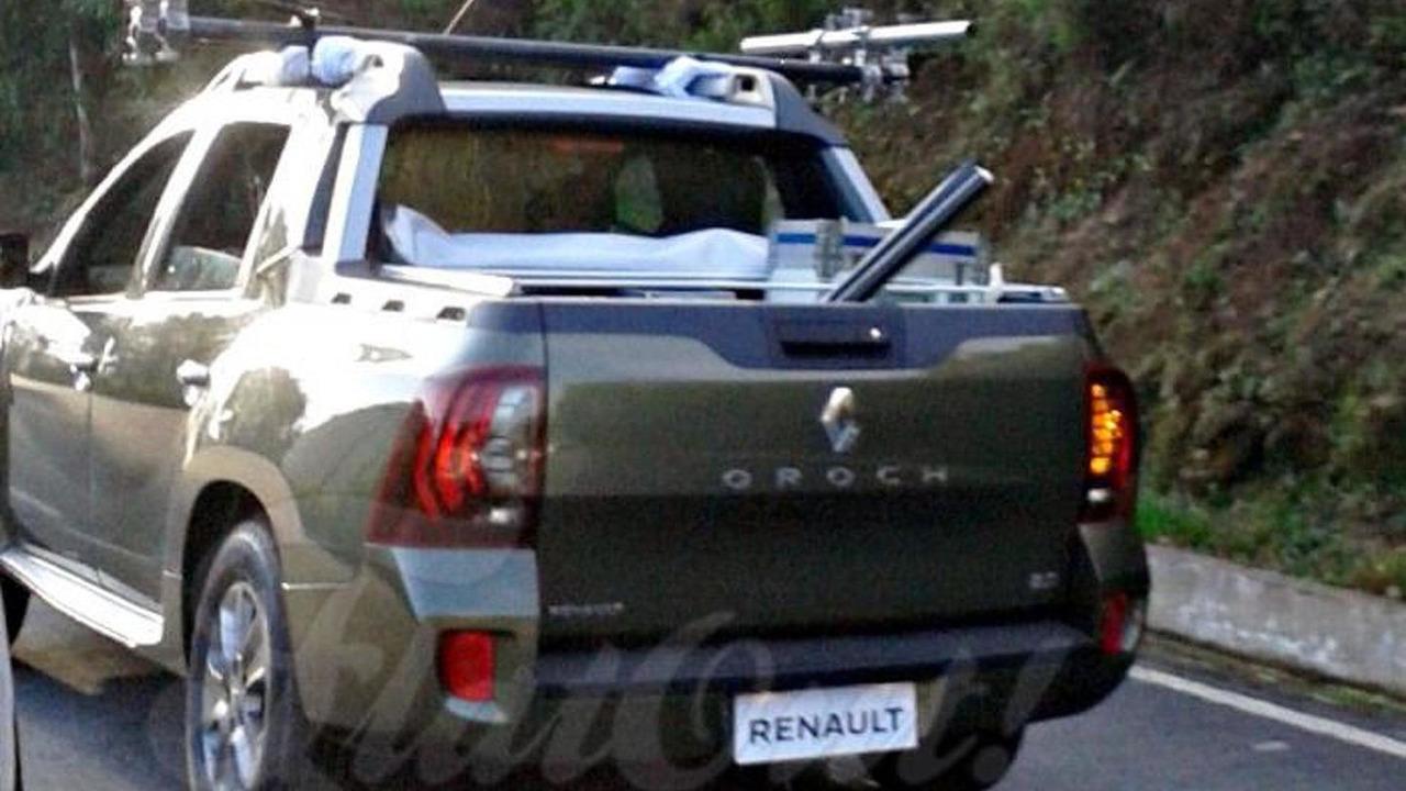 2015 Renault Oroch Spy Photo Motor1 Com Photos