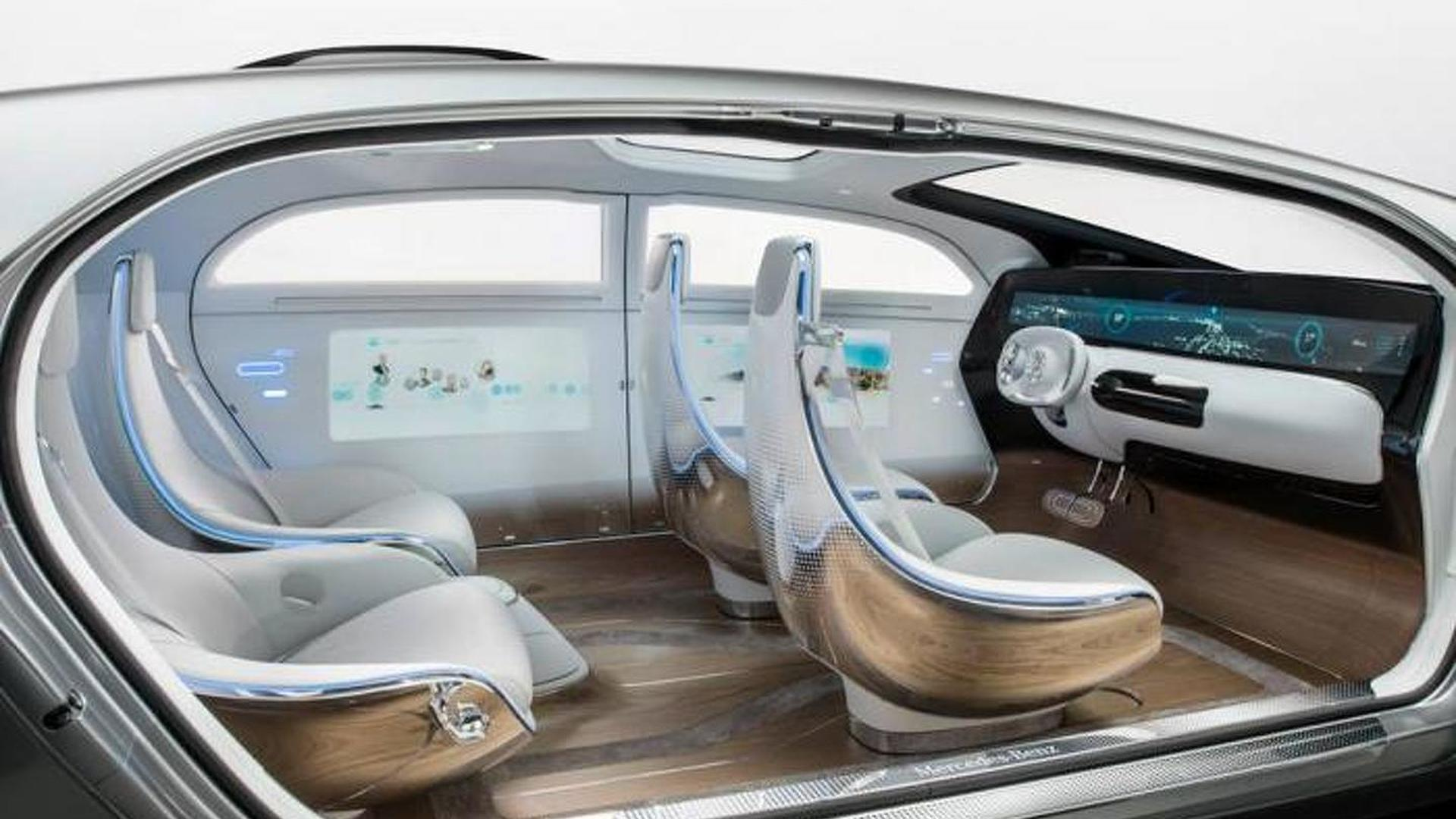 Mercedes F 015 >> Mercedes F 015 Luxury In Motion Concept Unveiled At Ces