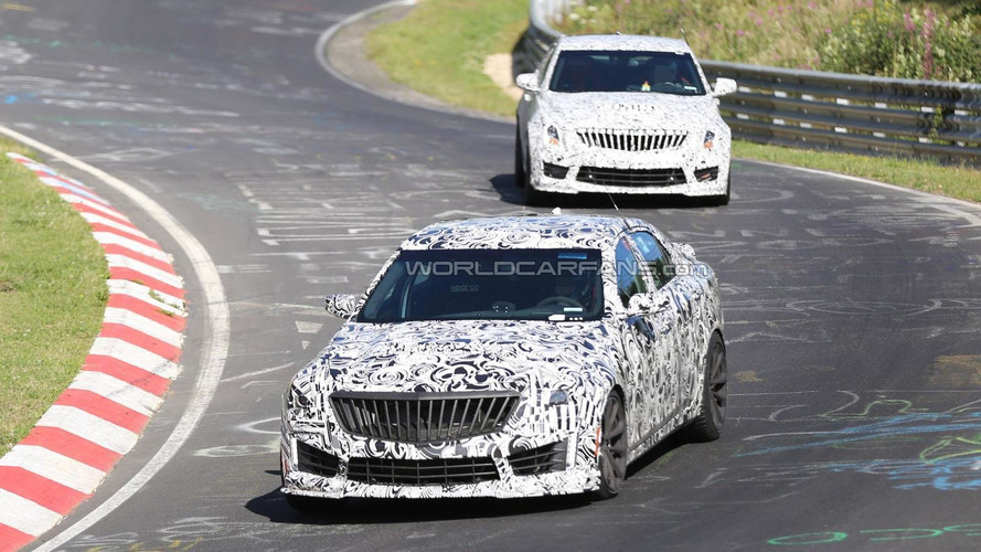 2016 Cadillac CTS-V tackles the Nurburgring