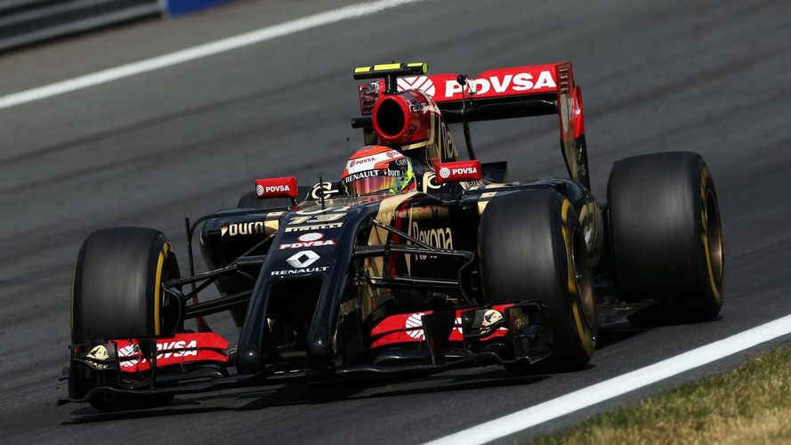 Lotus in 'contact' with Mercedes for 2015 power