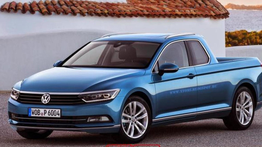 Volkswagen Passat Pickup and Fiat 500X Coupe digitally imagined