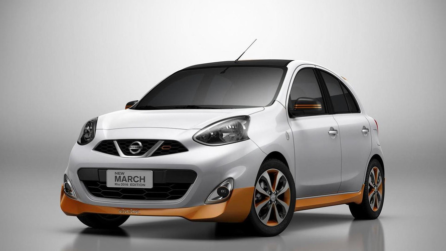 Nissan March Rio 2016 Edition