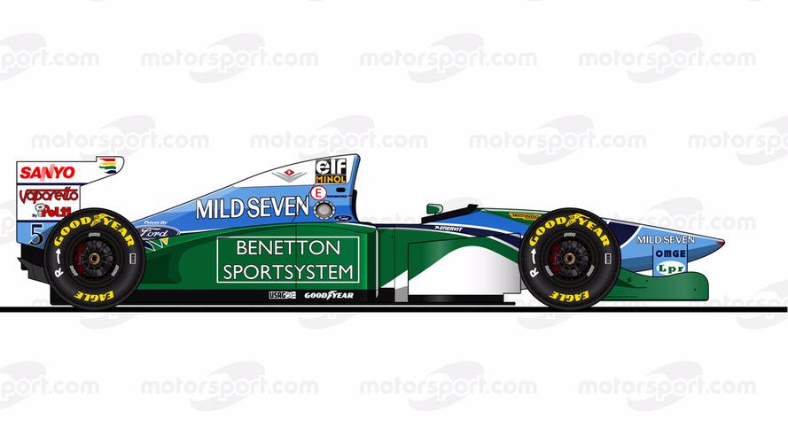 Benetton B194 - Ford