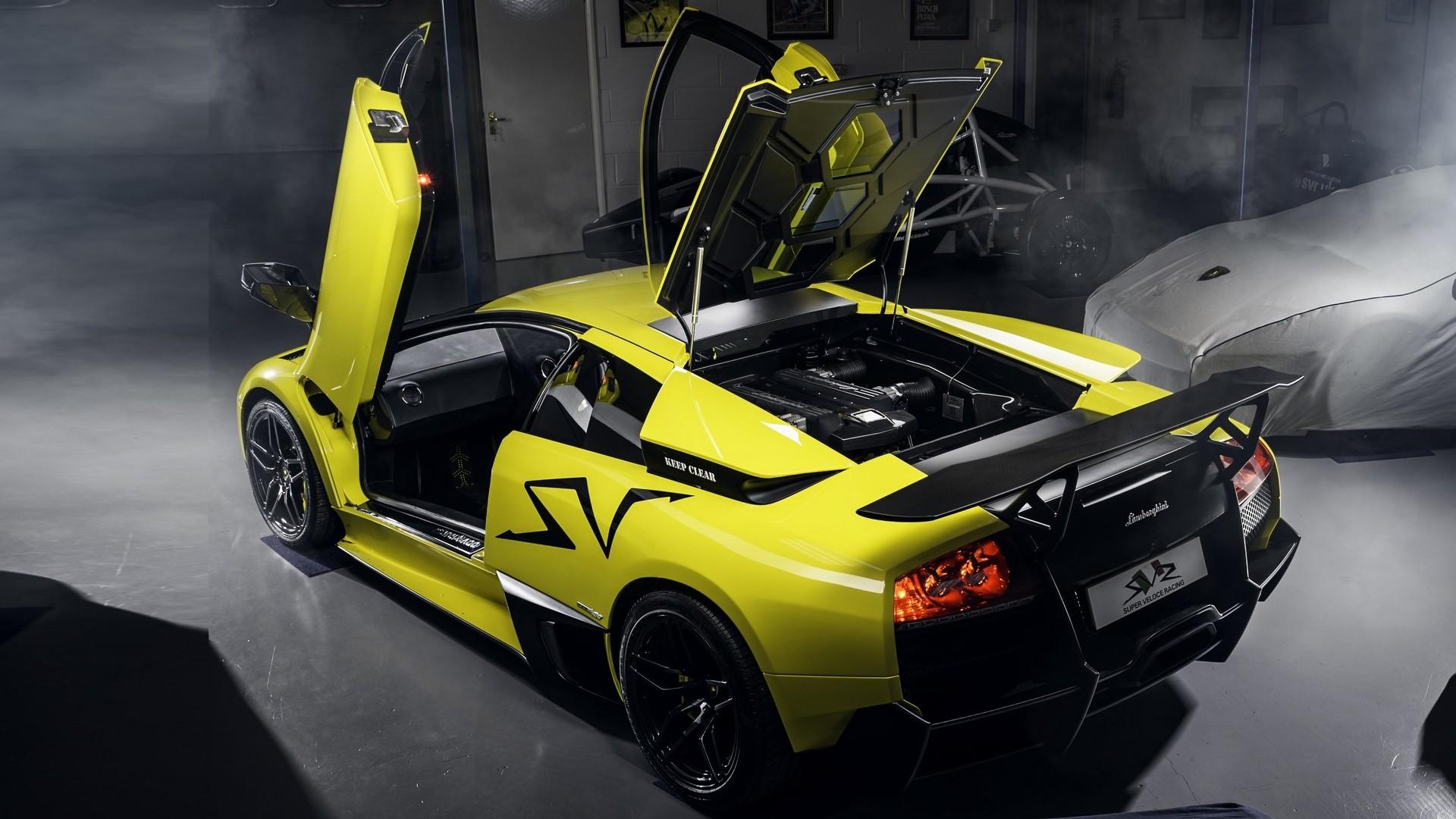 2009 Lamborghini Murcielago SV Coupe