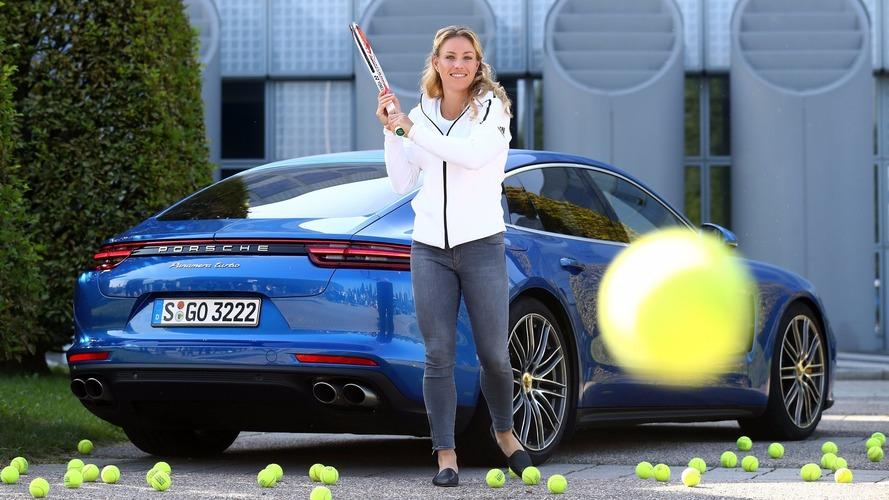 2017 Porsche Panamera Turbo pour la tenniswoman Angelique Kerber