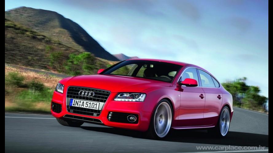 Novo Audi A5 Sportback 2010 é revelado - Veja detalhes em galeria de fotos em alta resolução