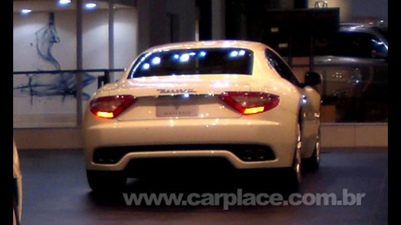 Salão do Automóvel 2008 - Maserati exibe o GranTurismo S V8 4.2 de 405 cv
