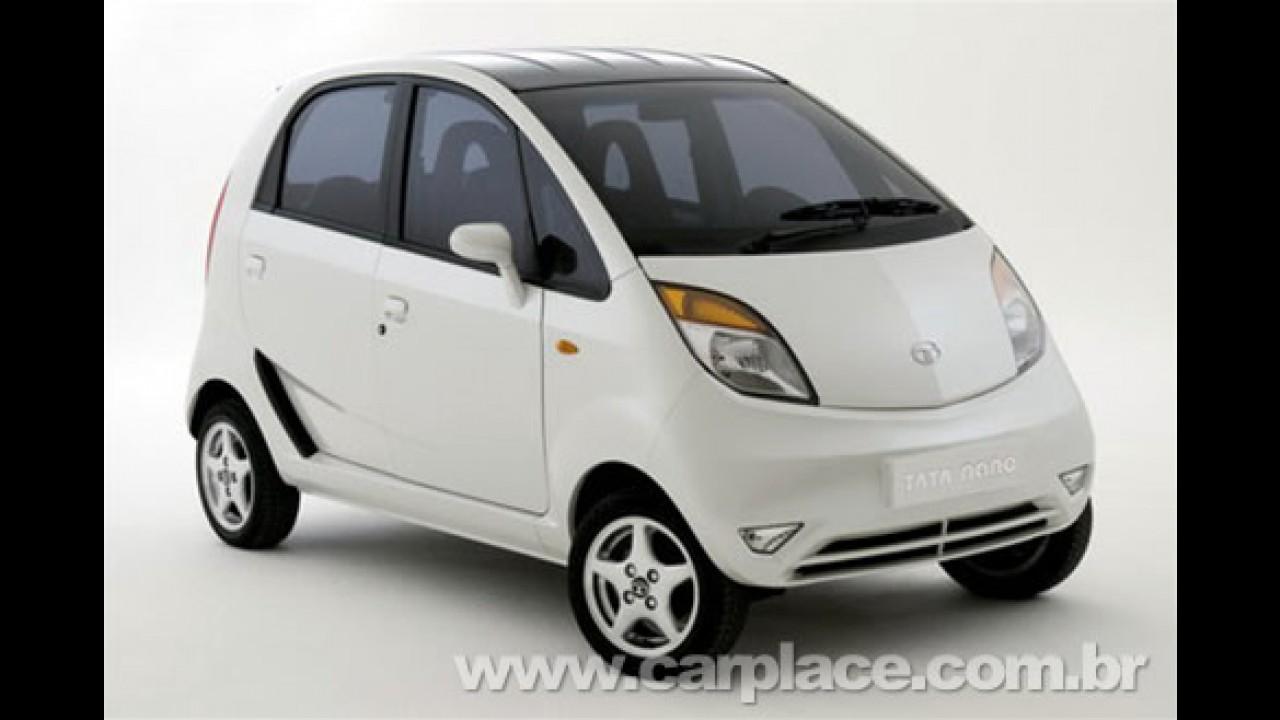 Tata Nano começa ser vendido na Índia dia 23/03 ainda mais barato: US$ 2 mil
