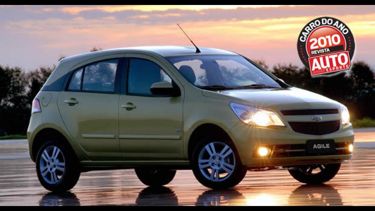 Chevrolet Agile é eleito o Carro do Ano em prêmio da Revista Autoesporte