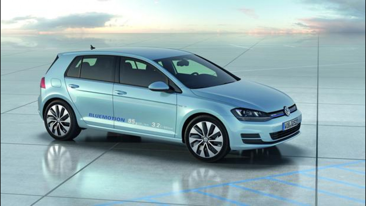 [Copertina] - Volkswagen Golf BlueMotion concept