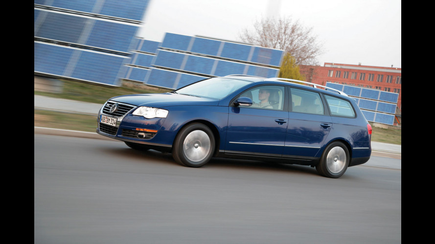Record di percorrenza per la Passat BlueMotion