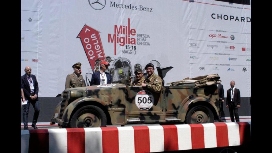 L'Esercito alla Mille Miglia con una Fiat 508