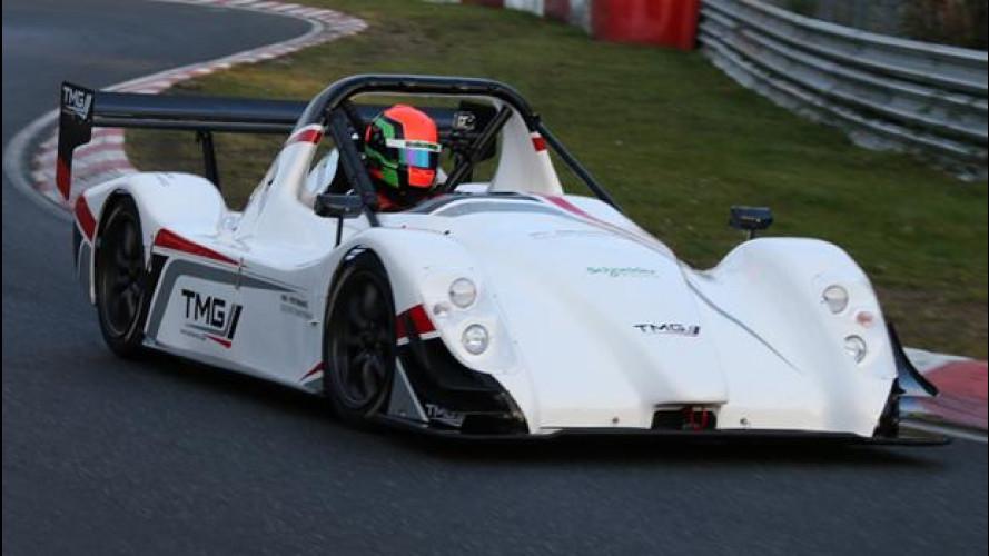 Toyota TMG EV P002, l'elettrica più veloce al Nurburgring