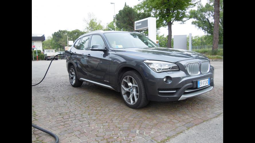 BMW X1 sDrive16d, la prova dei consumi