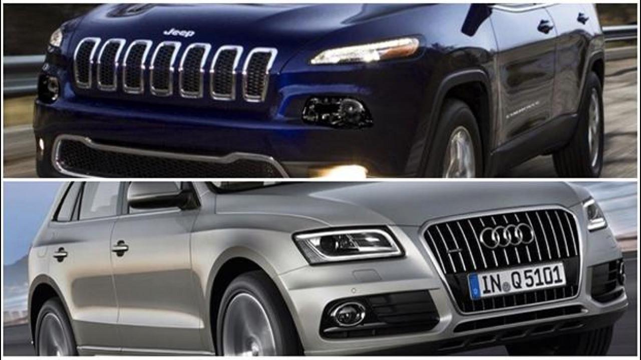 [Copertina] - Comprereste una Jeep Cherokee o un'Audi Q5, allo stesso prezzo?