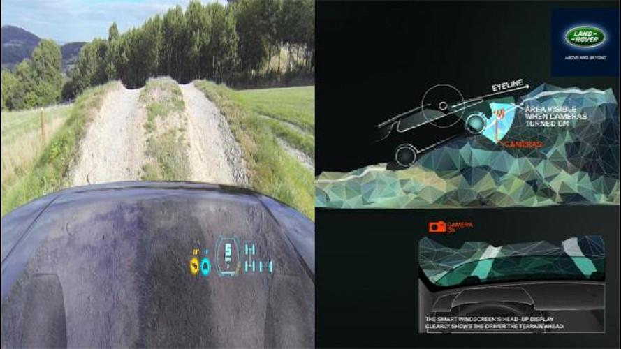 Land Rover, i nuovi SUV avranno il cofano motore trasparente