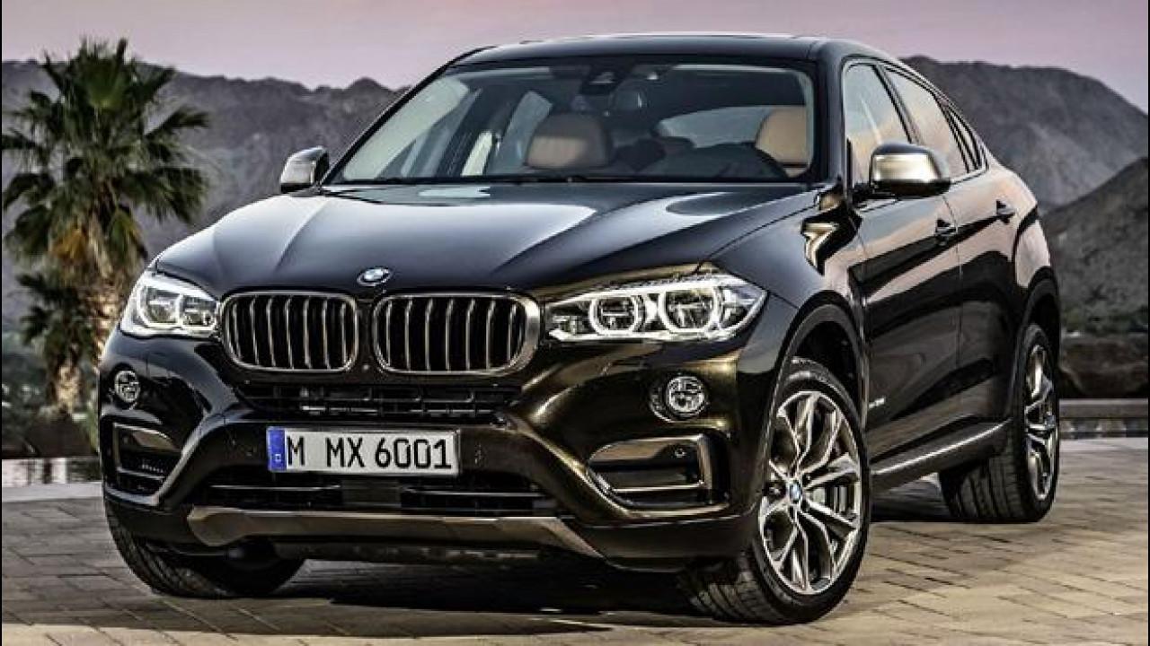 [Copertina] - Nuova BMW X6, le prime foto