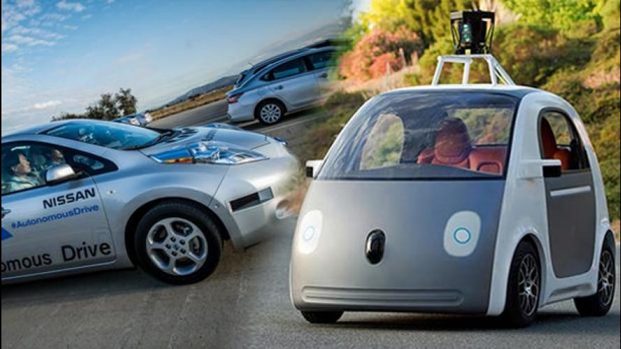 Google Car, Nissan reagisce alla sfida dell'auto senza pilota