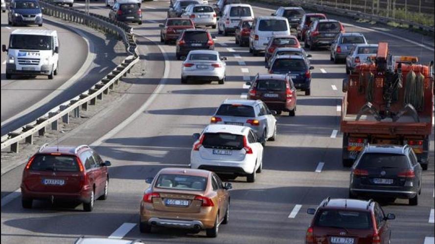Nel 2011 gli spostamenti con mezzi motorizzati sono tornati a crescere