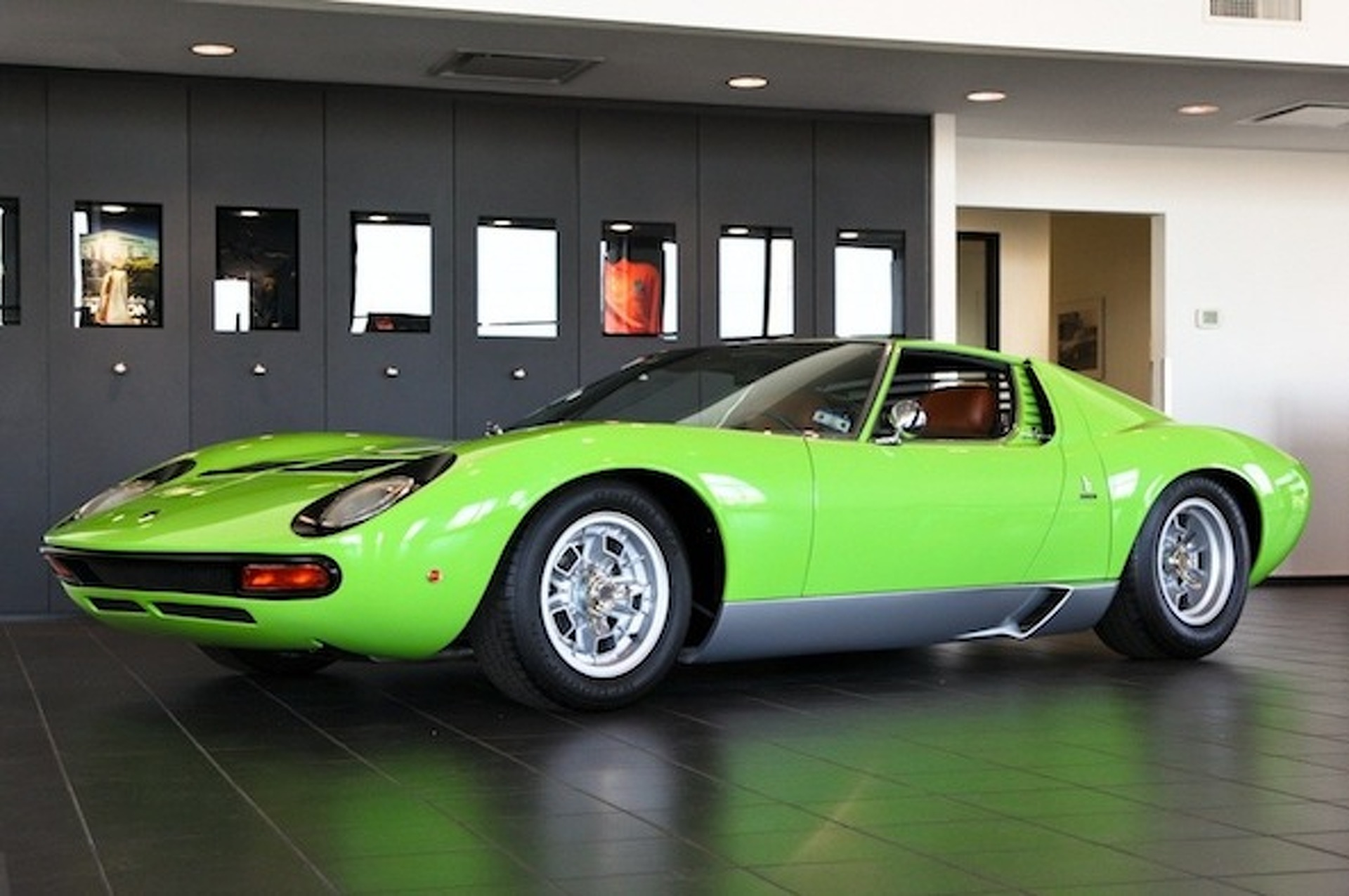 For Sale 1969 Minty Green Lamborghini Miura Sv