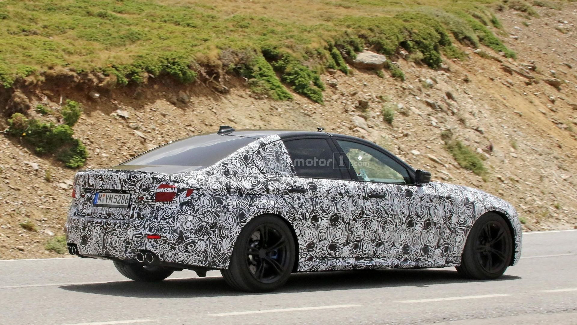 2018 Bmw M5 Spy Photo Foto Motor1 Com France
