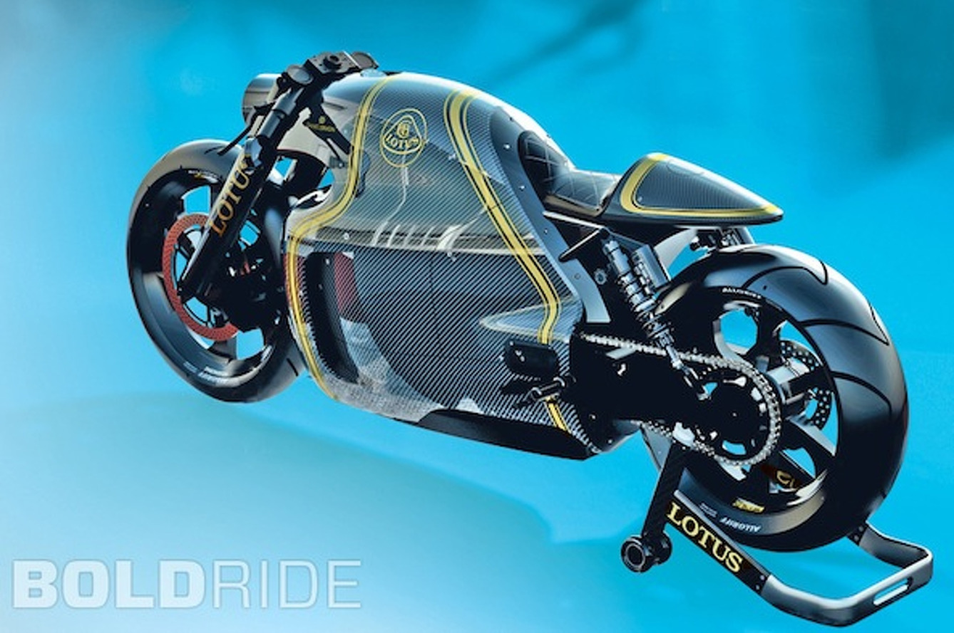 Lotus C-01 Superbike is 200HP Worth of Awesome