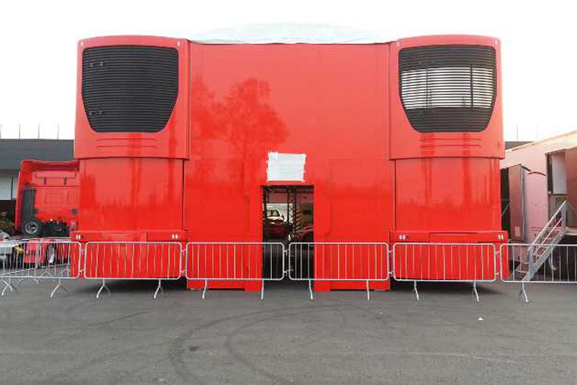 Give these Ferrari F1 Trailers a New Home