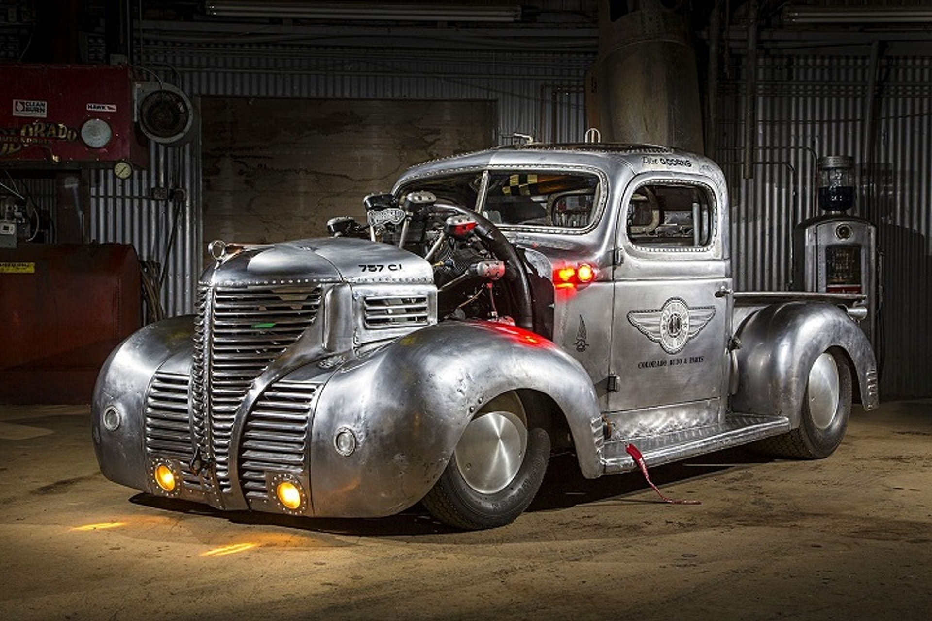 1939 Plymouth Pickup Hot Rod Is An Apocalyptic Airplane Powered