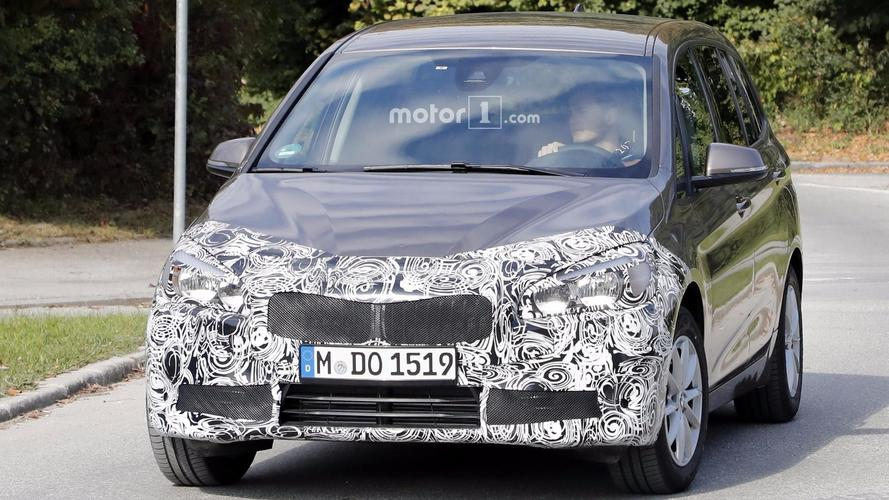 2018 BMW 2 Series Gran Tourer Spotted Masking  Its Nose Job