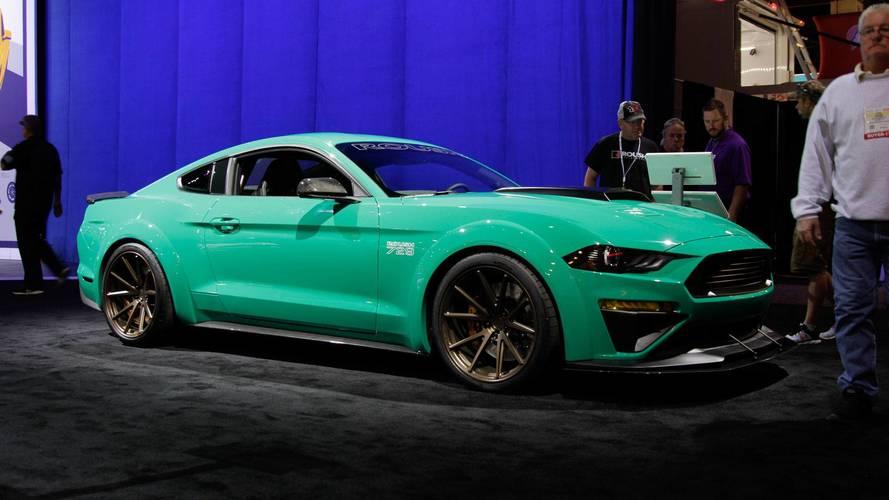 Une Ford Mustang Roush 729 de plus de 700 chevaux au SEMA Show
