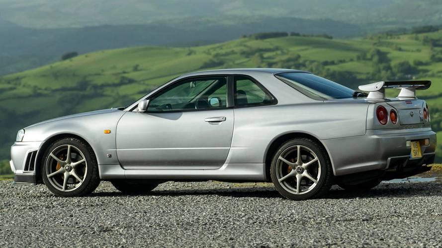 1999 Nissan Skyline GT R R34 ...