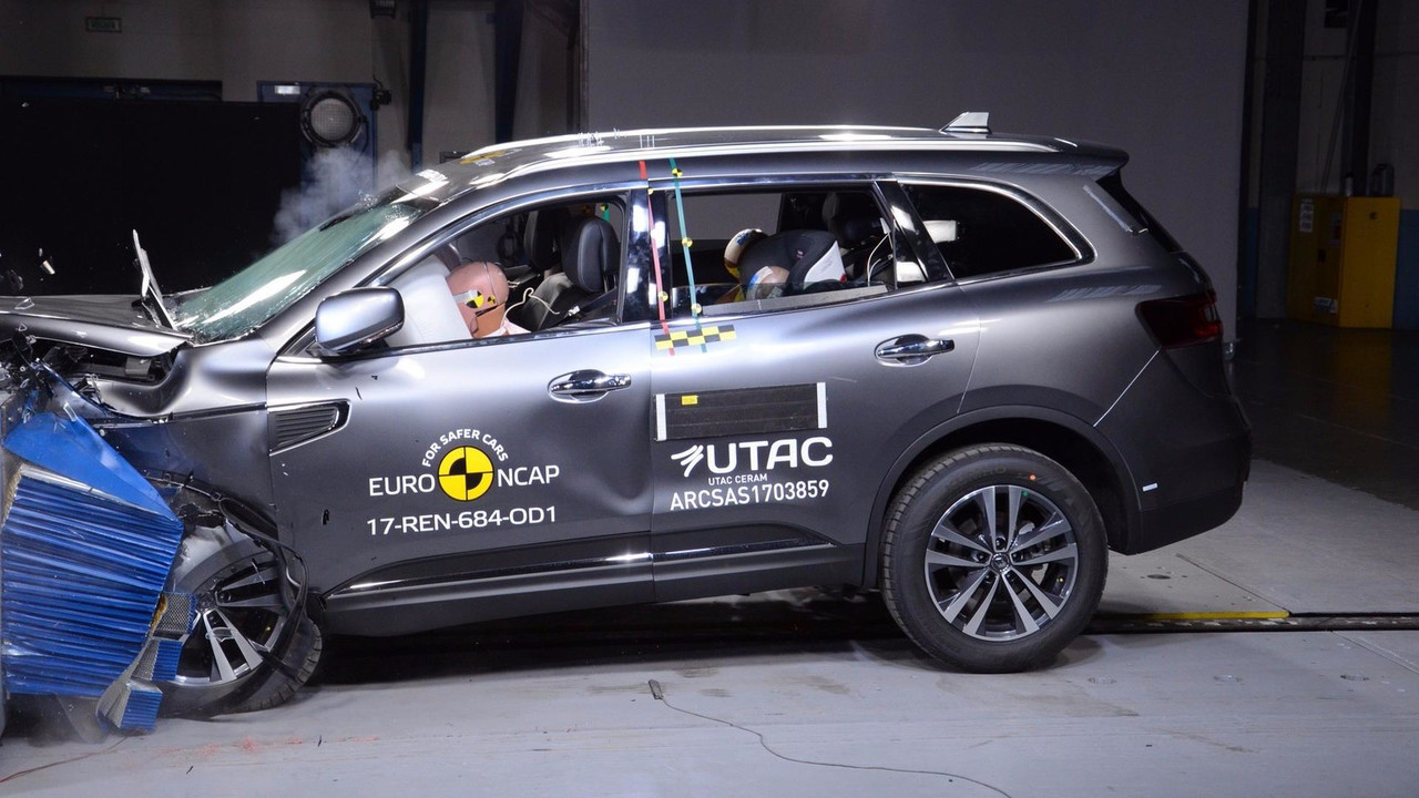 Renault Koleos crash-test