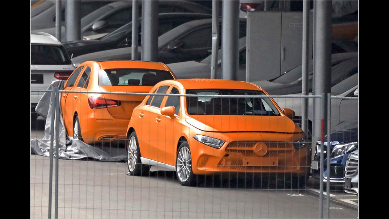 Neue Mercedes A-Klasse ungetarnt!