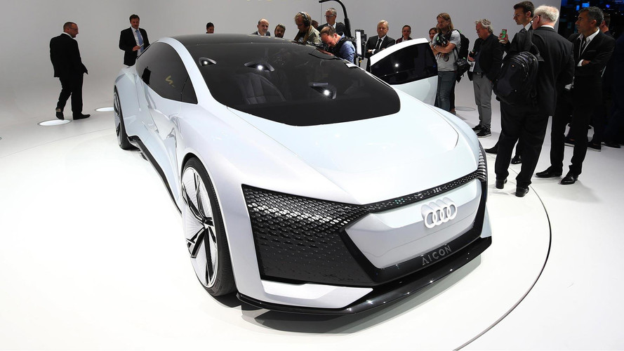 Audi Aicon Concept Shows An Autonomous Future In Frankfurt