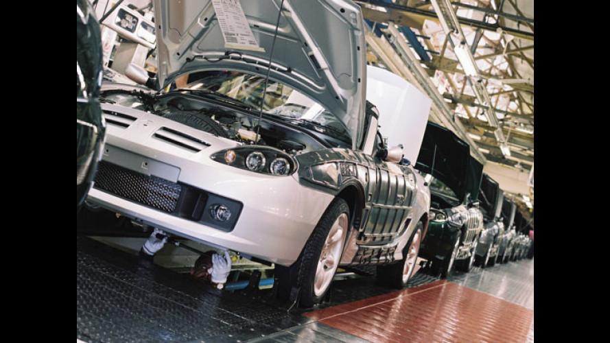 MG-Rover al capolinea