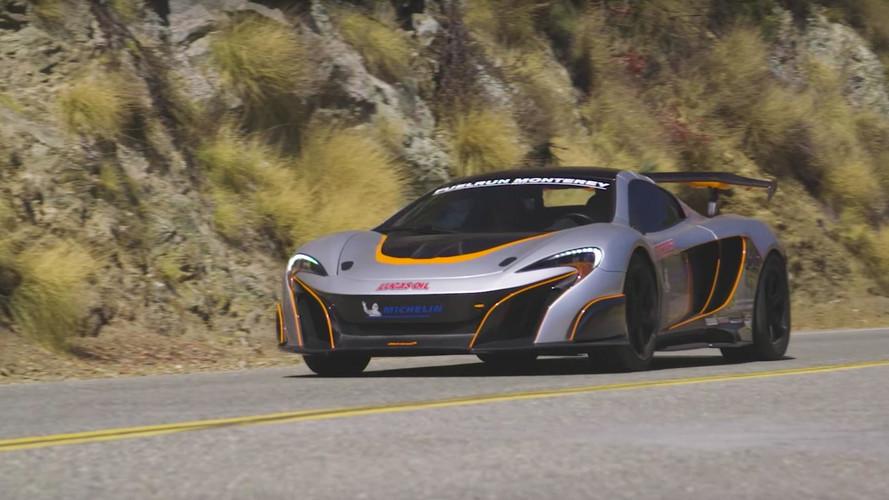 Avez-vous déjà vu ? Une McLaren équipée de trois turbos ?