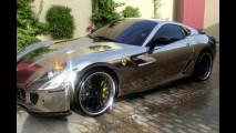 Ferrari 599 GTB Fiorano, tutta cromata